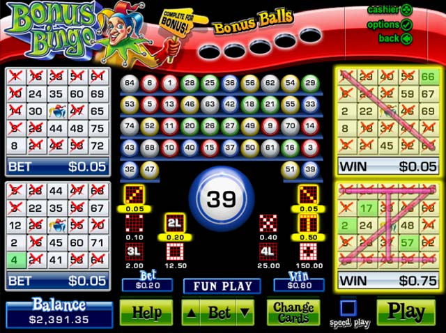 Play Online Bingo games for beginners