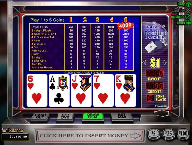 Casino poker bonus what gambling game has the best chance to win